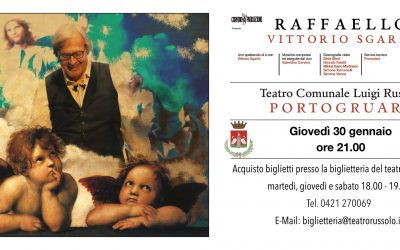 Raffaello – Vittorio Sgarbi (30 gennaio ore 21 Portogruaro)