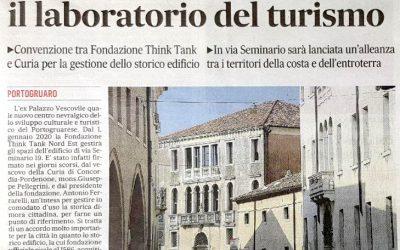 IL Distretto Turistico Venezia Orientale al Palazzo Vescovile di Portogruaro
