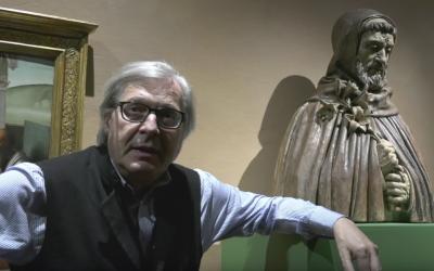 Vittorio Sgarbi presenta la mostra con La Collezione Cavallini Sgarbi a Portogruaro