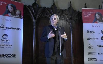 """Intervento di Vittorio Sgarbi – Apertura della mostra """"La Collezione Cavallini Sgarbi"""""""