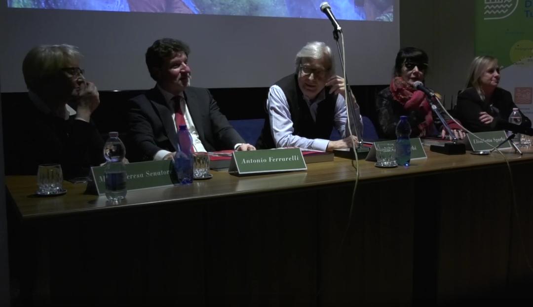 Conferenza stampa intervento di Vittorio Sgarbi