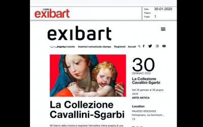 Exibart 30 gennaio 2020 – La Collezione Cavallini Sgarbi
