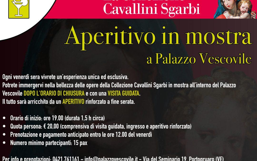 Arte con aperitivo a Palazzo Vescovile