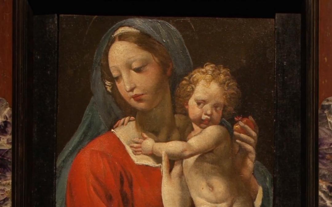 """Sgarbi illustra i dipinti della mostra """"La collezione Cavallini Sgarbi"""" a Portogruaro"""