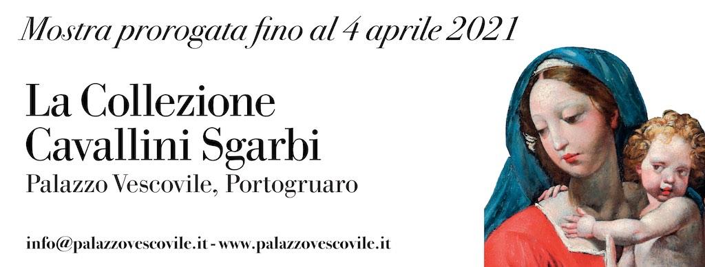 """Prorogata fino al 4 aprile 2021 la mostra su """"La Collezione Cavallini Sgarbi"""""""