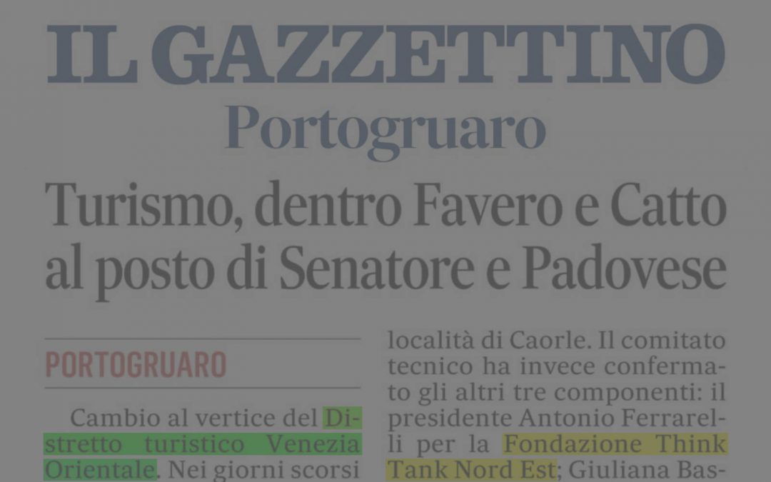 Il Gazzettino ed. di Venezia – 27 novembre 2020